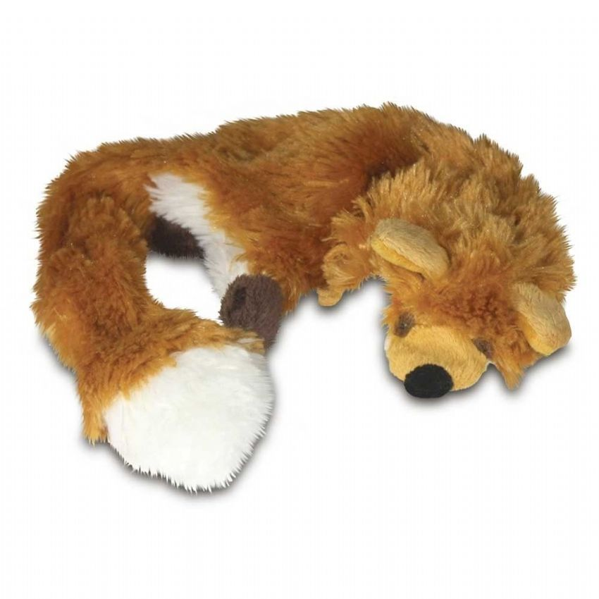 "DOG TOY RAGGY FOX STUFFING FREE 28"" LARGE SOFT TOY"